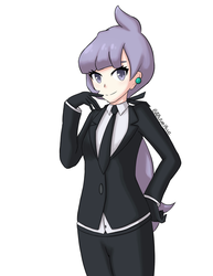 Pokemon SM - Anabel by SirWhintlebottoms