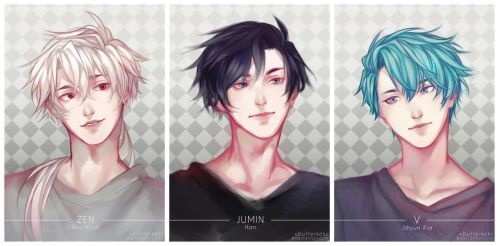Mystic Messenger. by vierblatt