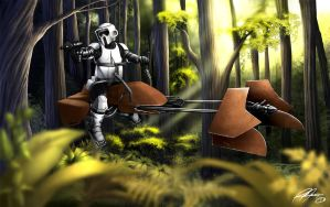 Scout-trooper by RaPour