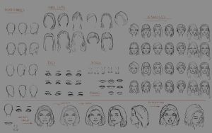 Character face research by nfouque