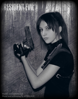 Claire Redfield cosplay. The Darkside Chronicles by AliceCroft