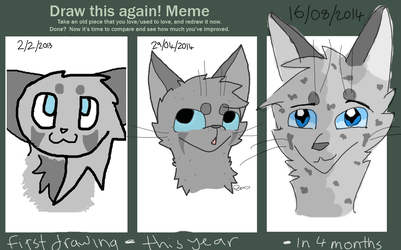 MY FIRST DIGITAL ART NOW REDRAWED: edited by Ivypool-Is-Cool