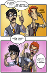 Harry Potter: Hot Red Head by Bilious