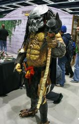 ECCC - Predator vs Batman by oOBrieOo