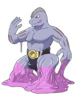Ditto into Machoke