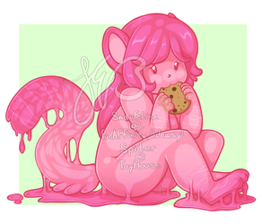 Cookie noms by WolfGodess12