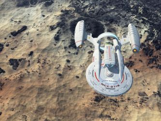 Poorly Thought-out Trek Ship by Paul-Lloyd