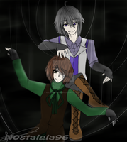 Trino and Oliver: On the Puppet Strings by Katsumi96Dokuro