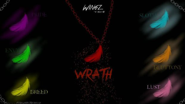 Wingz-Seven Deadly Sins Poster by TeamTeleporters