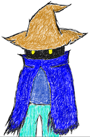 Black Mage 2015 (Colour) by TheMarc1k1