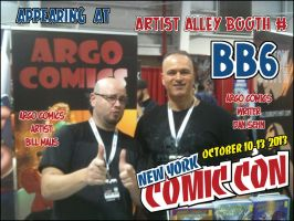 2013 NYCC Announcement by argocomics