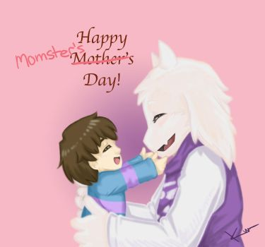 Happy Momster's Day - Undertale by KumaDanDan