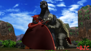 [MMD] GahAF - Godzilla and Friends 01 by BigJohnnyCool