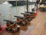 Cannons - HMS Bounty by StasiaM