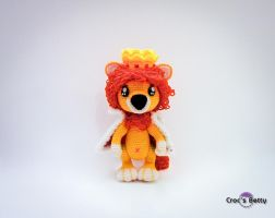 O Nil the King Lion by Crocsbetty