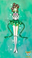 Sailor Jupiter by Jolin-chan