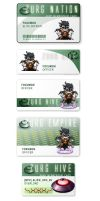 Zurg Hive ID Cards by foxumon