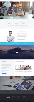 TheFox Business WordPress Theme | About Us by tranmautritam