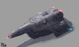 Jericho cargo space transport by philorion7
