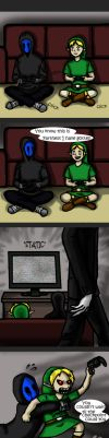 Ben's Gamer Rage by ControlledChaotic