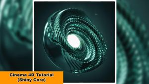 Shiny Core (Cinema 4D Tutorial) by NIKOMEDIA