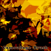 Camouflage Brush by Sweapie
