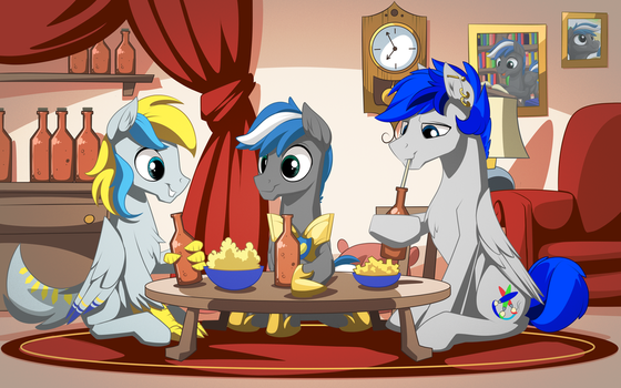 drinking night By Mysticalpha by Cloudzapper8