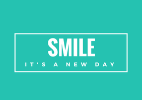 Smile its a new day by Smile-its-Friday