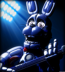 C4d | Strings in your neck [Funtime Bonnie] by The-Smileyy