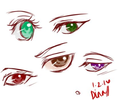 Eye practice by MoonLightSadness10