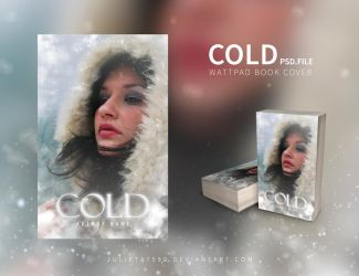 Cold - Wattpad BookCover {PSD} by Julieta7599