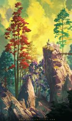 Forest of Liars : vertical contemplation by Tohad