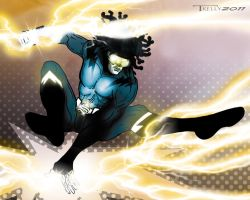 static shock redesign by TomKellyART