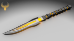 Altruistic Fire Opal: The Fool's Divider V2(Knife) by Accel-Phoenix
