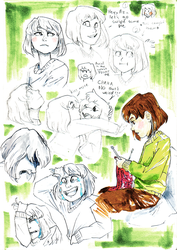 Chara-sketches by an-artist-complex