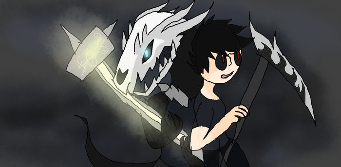 Hammer and Scythe by dragolover95