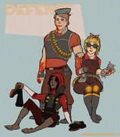TF2 Genderflips: Defense by paisley