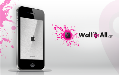 white beaty_iPhone by WallforAll