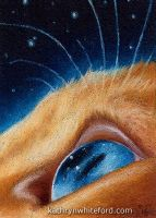 ACEO - Stars by KathrynWhiteford