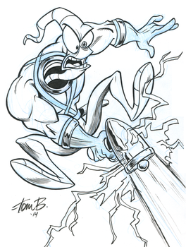 Earthworm Jim by tombancroft