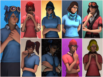 Group Collage by AgentVigilante