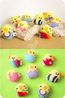 Easter Chicklings by casscc
