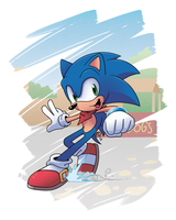 Sonic Legends - Sonic the Hedgehog by DarkNoise-Studios