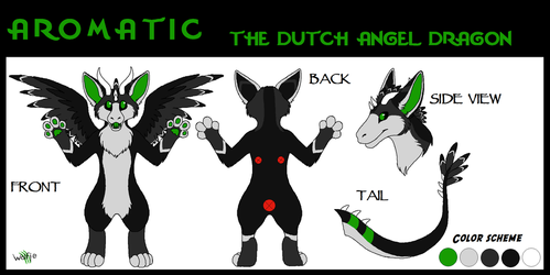 (G) Aromatic the Dutchie ref sheet by WolfieMoonscar