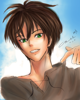 Chillin with the Eren by littlemissmarikit