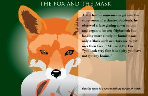 The Fox and the Mask by Jeremy-Burner