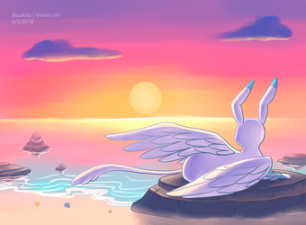 Commission: Sky by BluuKiss