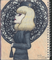 Sketchbook Drawing 51 - Agnes Crumplebottom by TheEmily1220