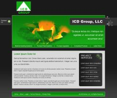 ICDGroup Site by datamouse