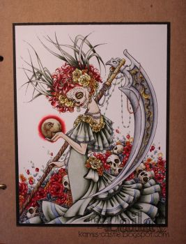 Santa Muerta - colouring by VideoEtTaceo
